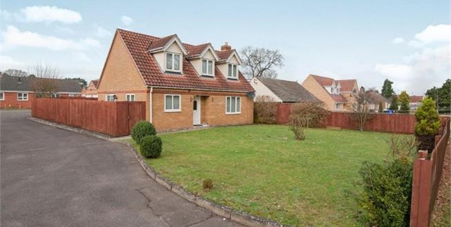 Offers in excess of £240,000, 4 Bedroom Detached Bungalow For Sale in Brandon, IP27