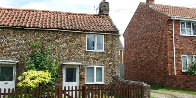 Guide Price £55,000, 1 Bedroom Semi Detached House For Sale in Lakenheath, IP27