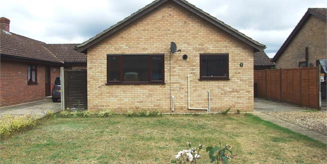 Offers in excess of £210,000, 2 Bedroom Detached Bungalow For Sale in Mildenhall, IP28