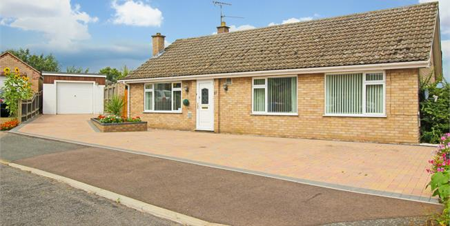 Offers in excess of £270,000, 3 Bedroom Detached Bungalow For Sale in Brandon, IP27