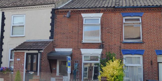 Offers in excess of £150,000, 2 Bedroom Terraced House For Sale in Norwich, NR3