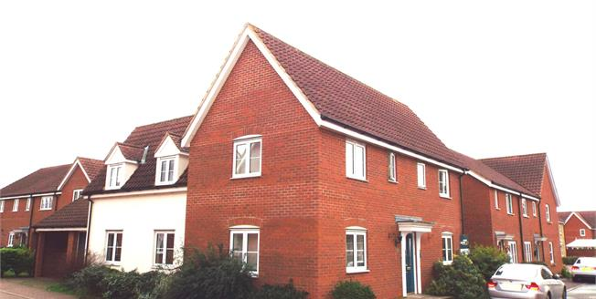 Guide Price £325,000, 4 Bedroom Detached House For Sale in Norwich, NR6