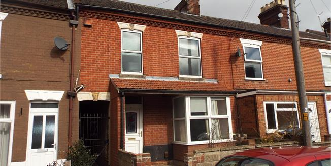 Asking Price £220,000, 3 Bedroom Terraced House For Sale in Norwich, NR3