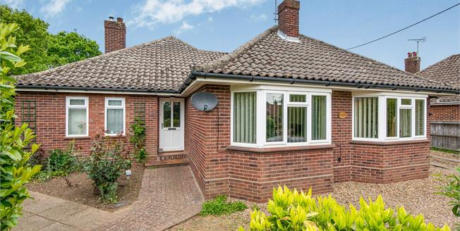 Offers in excess of £375,000, 4 Bedroom Detached Bungalow For Sale in Alpington, NR14