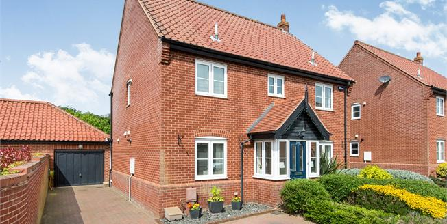 Offers in excess of £375,000, 5 Bedroom Detached House For Sale in Easton, NR9