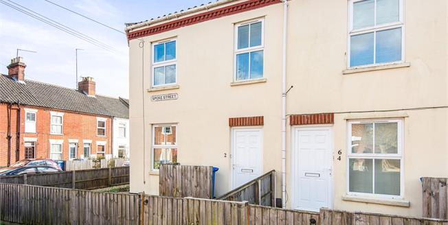 Guide Price £220,000, 2 Bedroom End of Terrace House For Sale in Norwich, NR2