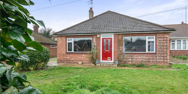 Guide Price £230,000, 3 Bedroom Detached Bungalow For Sale in Norwich, NR6