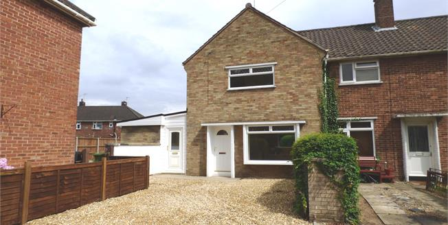 Offers in excess of £180,000, 2 Bedroom End of Terrace House For Sale in Norfolk, NR4