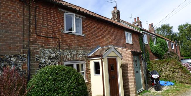 Guide Price £210,000, 2 Bedroom Terraced House For Sale in Little Melton, NR9