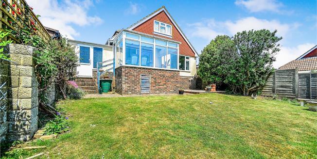 Guide Price £500,000, 5 Bedroom Detached Bungalow For Sale in Saltdean, BN2