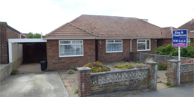 Asking Price £285,000, 2 Bedroom Semi Detached Bungalow For Sale in Peacehaven, BN10