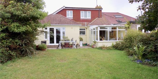 Asking Price £400,000, 5 Bedroom Semi Detached Bungalow For Sale in Saltdean, BN2