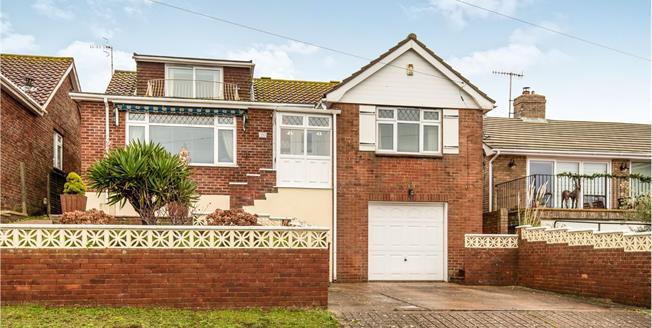 Guide Price £600,000, 4 Bedroom Detached Bungalow For Sale in Saltdean, BN2