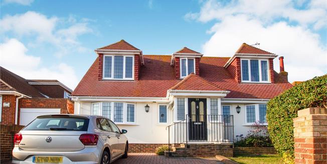 Asking Price £675,000, 4 Bedroom Detached House For Sale in Saltdean, BN2