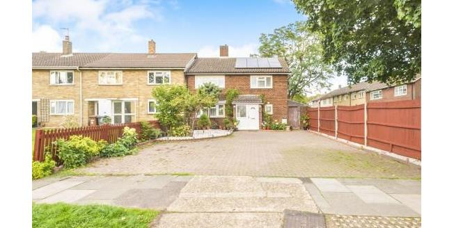 Asking Price £390,000, 4 Bedroom End of Terrace House For Sale in Stevenage, SG1