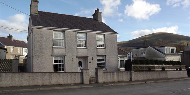 Offers in the region of £269,950, 4 Bedroom Detached House For Sale in Waunfawr, LL55