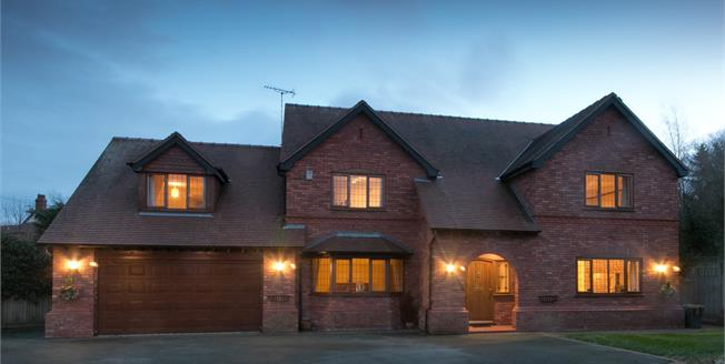 Asking Price £645,000, 4 Bedroom Detached House For Sale in Hawarden, CH5