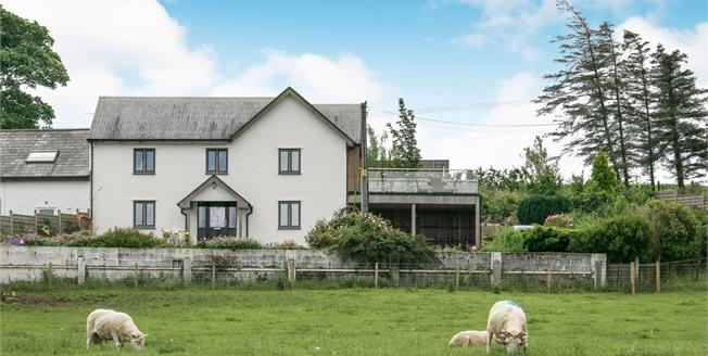 Asking Price £650,000, 4 Bedroom Link Detached House For Sale in Carmel, LL26