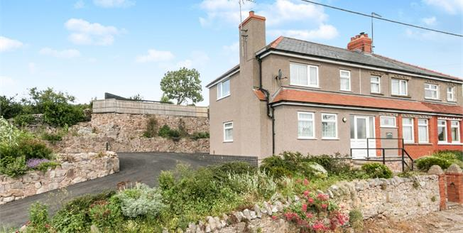 Asking Price £225,000, 3 Bedroom Semi Detached House For Sale in Llysfaen, LL29