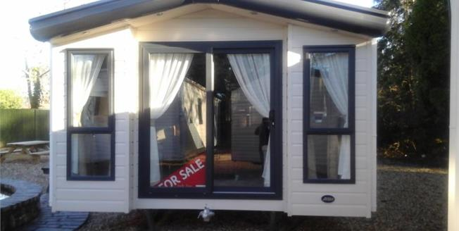 Asking Price £79,995, Detached Mobile Home For Sale in St. Asaph, LL17