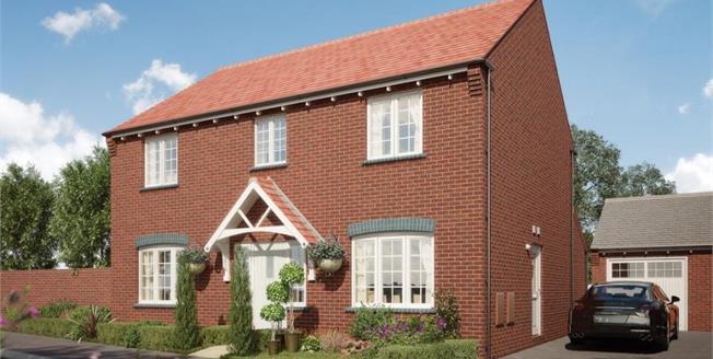 £385,000, 4 Bedroom Detached House For Sale in Ashby de La Zouch, LE65