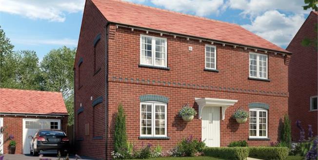 £333,000, 4 Bedroom Detached House For Sale in Ashby de La Zouch, LE65