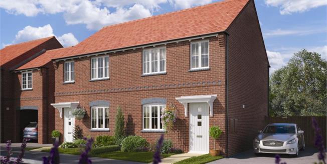 £210,000, 3 Bedroom Semi Detached House For Sale in Ashby de La Zouch, LE65