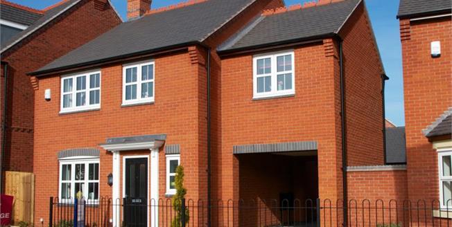 £315,000, 4 Bedroom Detached House For Sale in Ashby de La Zouch, LE65