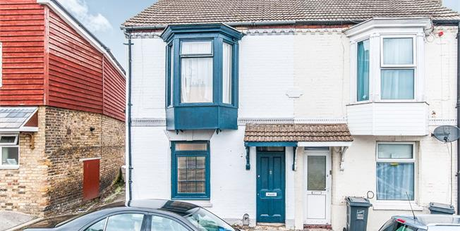 Guide Price £160,000, 3 Bedroom End of Terrace House For Sale in Ramsgate, CT11