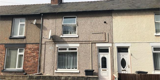 Asking Price £110,000, 3 Bedroom Terraced House For Sale in Flint, CH6