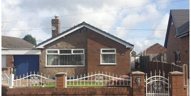 Offers Over £250,000, 3 Bedroom Detached Bungalow For Sale in Brynford, CH8