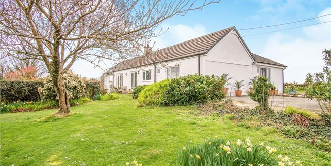 Offers in excess of £475,000, 4 Bedroom Detached Bungalow For Sale in Penmynydd, LL61