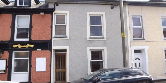 Asking Price £110,000, 2 Bedroom Terraced House For Sale in Porthmadog, LL49