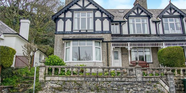 Asking Price £285,000, 4 Bedroom Semi Detached House For Sale in Borth-y-Gest, LL49