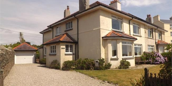 Asking Price £365,000, 4 Bedroom Semi Detached House For Sale in Criccieth, LL52