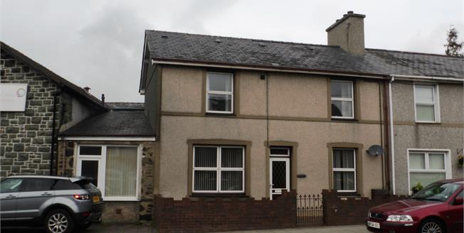 Asking Price £143,000, 3 Bedroom Terraced House For Sale in Penrhyndeudraeth, LL48