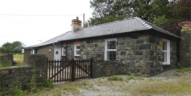 Asking Price £265,000, 2 Bedroom Detached Cottage For Sale in Criccieth, LL52