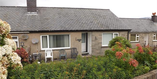 Asking Price £125,000, 2 Bedroom Semi Detached Bungalow For Sale in Penrhyndeudraeth, LL48