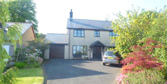 Asking Price £375,000, 4 Bedroom Detached House For Sale in Pentrefelin, LL52