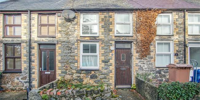 Asking Price £89,995, 2 Bedroom Terraced House For Sale in Efailnewydd, LL53