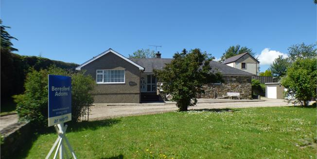 Asking Price £335,000, 4 Bedroom Detached Bungalow For Sale in Chwilog, LL53