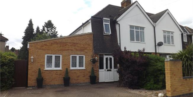 Asking Price £280,000, 4 Bedroom Semi Detached House For Sale in Northampton, NN3