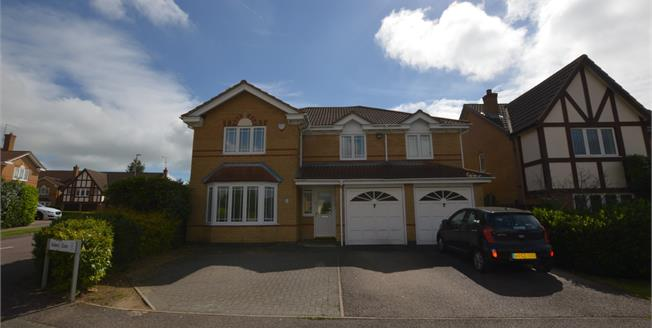 Asking Price £490,000, 5 Bedroom Detached House For Sale in Wootton, NN4