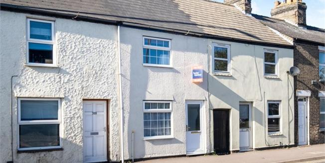 £315,000, 2 Bedroom Terraced House For Sale in Cambridge, CB5
