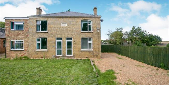 £215,000, 3 Bedroom Semi Detached House For Sale in Earith, PE28
