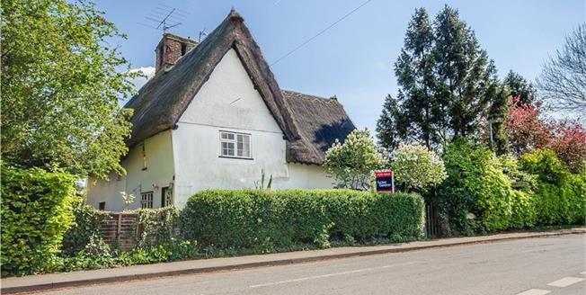 Guide Price £315,000, 2 Bedroom Semi Detached House For Sale in Foxton, CB22