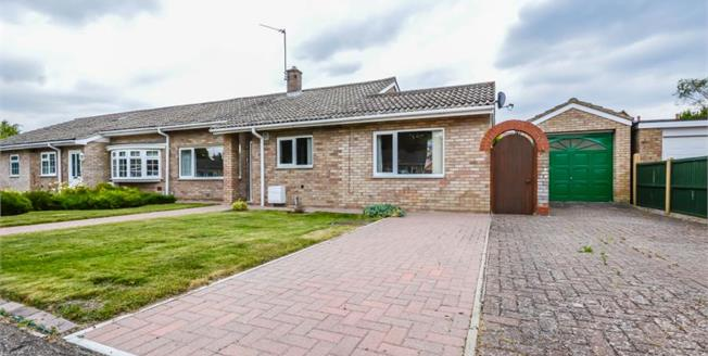 £395,000, 2 Bedroom Semi Detached Bungalow For Sale in Melbourn, SG8