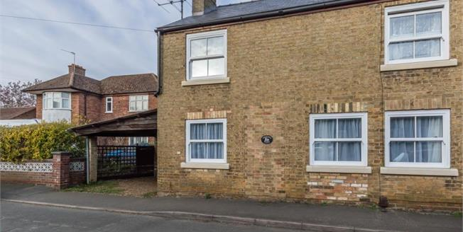 Guide Price £345,000, 3 Bedroom End of Terrace House For Sale in Cottenham, CB24