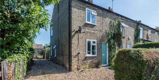 Guide Price £350,000, 2 Bedroom End of Terrace House For Sale in Histon, CB24