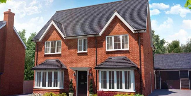Guide Price £550,000, 4 Bedroom Detached House For Sale in Stansted, CM24
